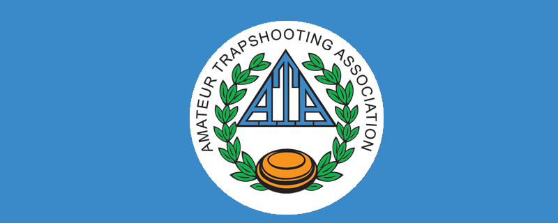ATA Logo on blue background